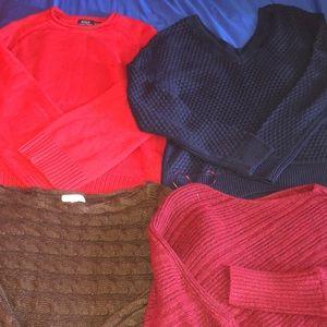 Super comfy sweaters